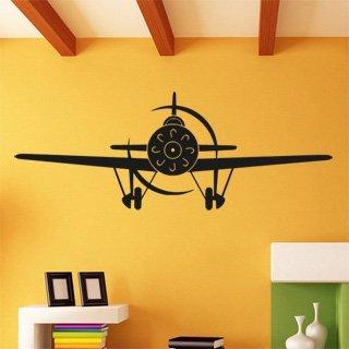 Samolepka na stěnu Letadlo 010 - 328x120 cm