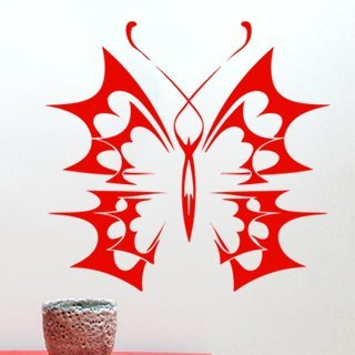 Samolepka na zeď Motýl 009 - 64x60 cm