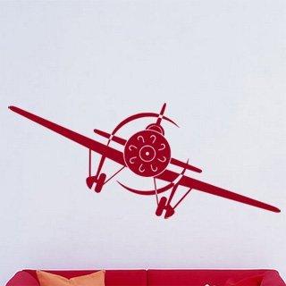 Samolepka na zeď Letadlo 002 - 120x50 cm