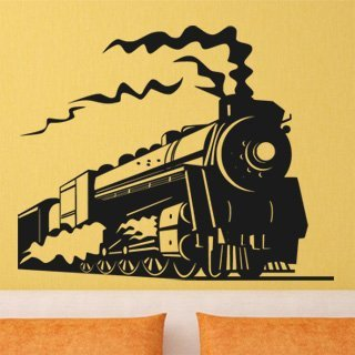 Samolepka na zeď Vlak 005 - 75x60 cm