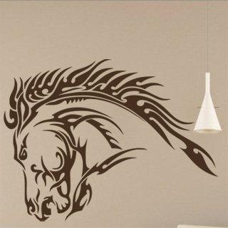 Samolepka na zeď Kůň 032 - 80x60 cm