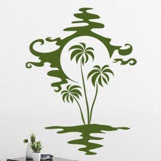 Samolepící dekorace Palmy 002 - 90x120 cm