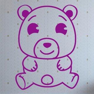 Nálepka na zeď Medvídek 001 - 100x134 cm