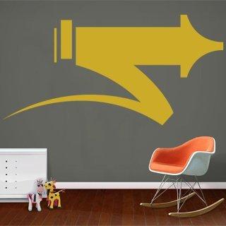 Nálepka na zeď Šipka 011 - 240x120 cm