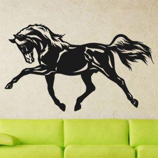 Samolepka na stěnu Kůň 0402 - 206x120 cm