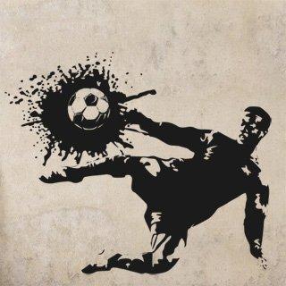 Samolepka Fotbalista 006 - 120x100 cm
