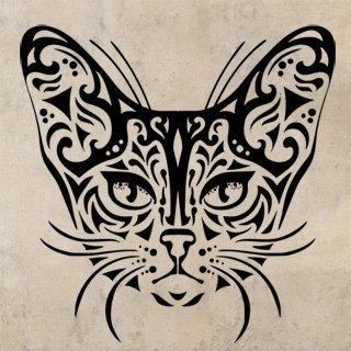Samolepka Kočka 0482 - 100x102 cm