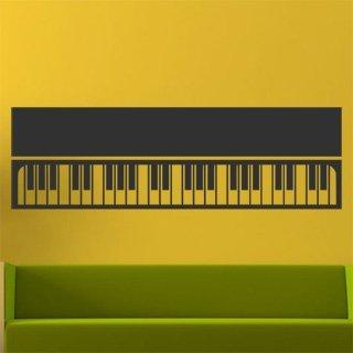 Samolepka na zeď Piano 008 - 120x37 cm