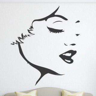 Samolepka na stěnu Žena 042 - 120x139 cm