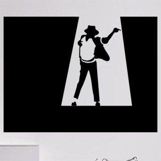 Samolepka na zeď Michael Jackson 004 - 80x60 cm