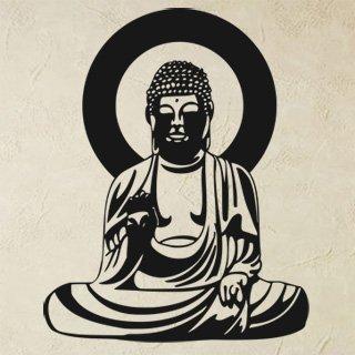 Samolepící dekorace Budha 001 - 80x146 cm