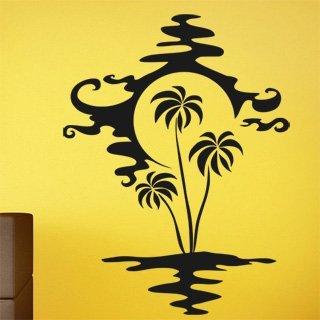Nálepka na zeď Palmy 002 - 100x134 cm
