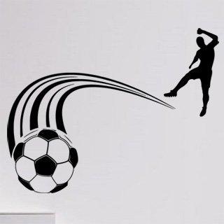 Samolepka Fotbalista 0578 - 103x80 cm