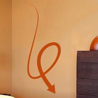 Samolepka na zeď Šipka 017 - 47x120 cm