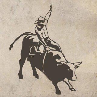 Samolepka na zeď Kovboj 003 - 60x75 cm