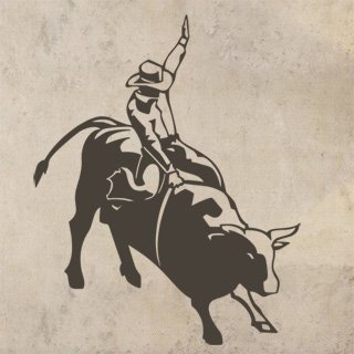 Samolepka Kovboj 003 - 80x100 cm