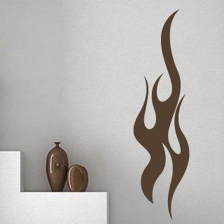 Samolepka na zeď Plameny 008 - 60x228 cm