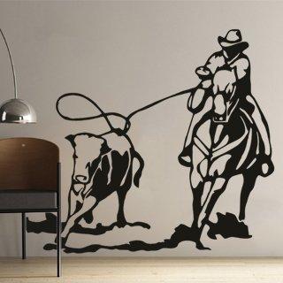 Samolepka Kovboj 002 - 120x108 cm