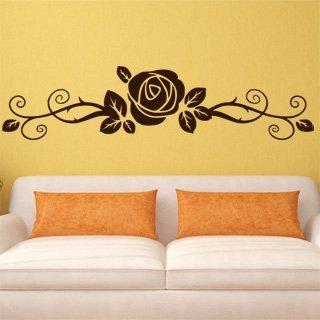 Samolepka na zeď Růže 0183 - 120x29 cm