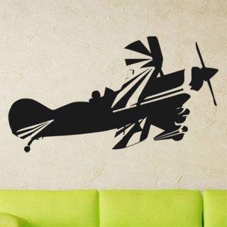 Samolepka na stěnu Letadlo 013 - 219x120 cm