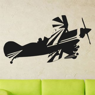 Nálepka na zeď Letadlo 013 - 182x100 cm