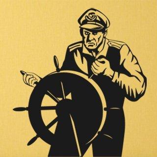 Samolepka Kapitán 001 - 80x89 cm