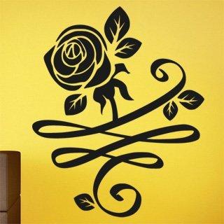 Nálepka na zeď Růže 0184 - 120x148 cm