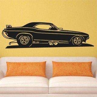 Samolepící dekorace Auto 021 - 316x100 cm
