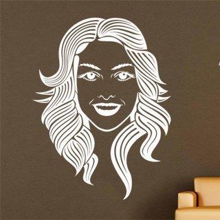 Nálepka na zeď Žena 001 - 100x134 cm