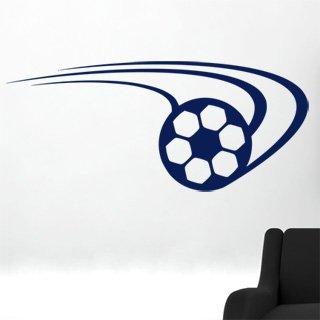 Samolepící dekorace Fotbalový míč 007 - 189x80 cm