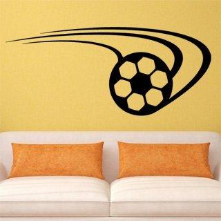 Samolepka na stěnu Fotbalový míč 007 - 283x120 cm