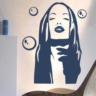 Samolepící dekorace Dívka 004 - 95x120 cm