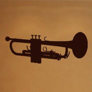 Samolepka na zeď Trumpeta 001 - 120x45 cm