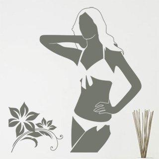Samolepka Žena 025 - 80x88 cm