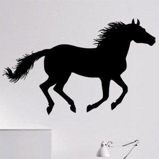 Samolepka na zeď Kůň 0395 - 96x60 cm