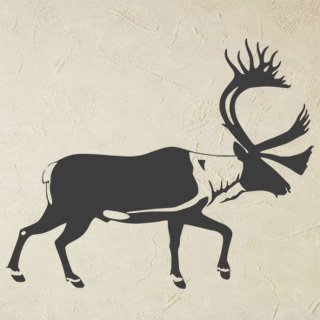 Nálepka na zeď Jelen 007 - 147x120 cm