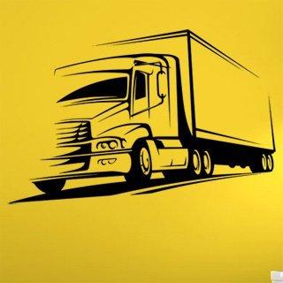Samolepka Kamion 002 - 120x78 cm