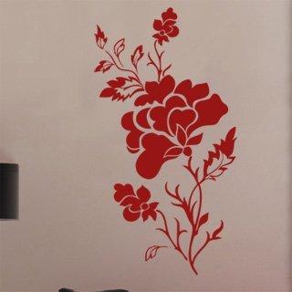 Samolepka na stěnu Růže 010 - 120x225 cm
