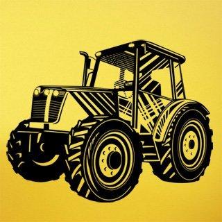 Samolepka na zeď Traktor 003 - 103x80 cm