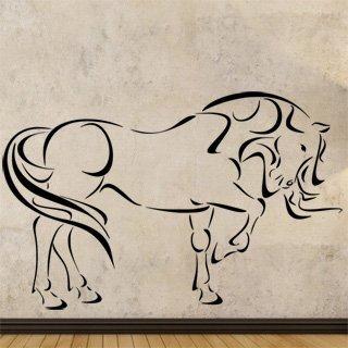 Samolepící dekorace Kůň 0338 - 156x100 cm