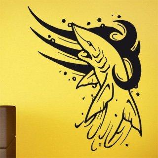 Samolepící dekorace Žralok 002 - 120x154 cm