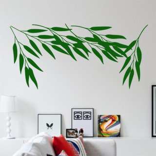 Nálepka na zeď Bambus 003 - 253x120 cm