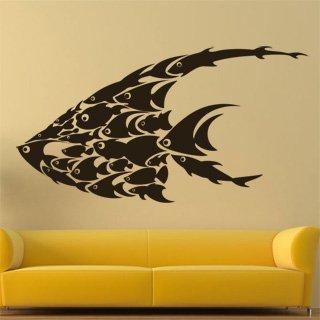 Samolepící dekorace Rybičky 001 - 150x80 cm