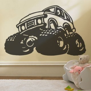 Samolepící dekorace Auto 013 - 130x80 cm