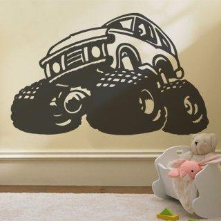 Samolepka na zeď Auto 013 - 98x60 cm
