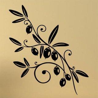 Samolepící dekorace Olivy 0297 - 100x114 cm