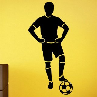 Nálepka na zeď Fotbalista 0591 - 120x252 cm