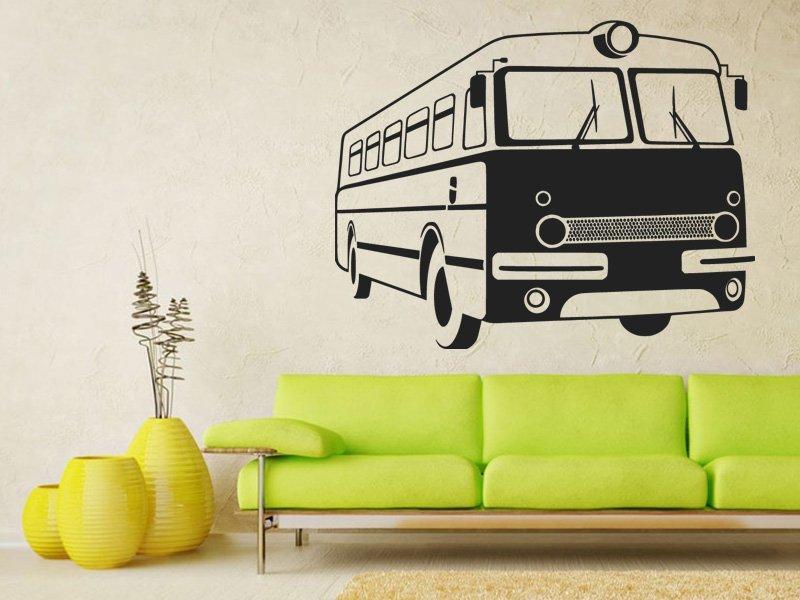Samolepka na zeď Retro autobus 0790