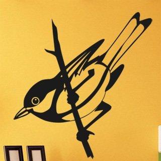 Samolepící dekorace Pták 012 - 100x106 cm
