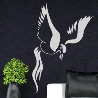 Samolepka na zeď Pták 015 - 60x89 cm